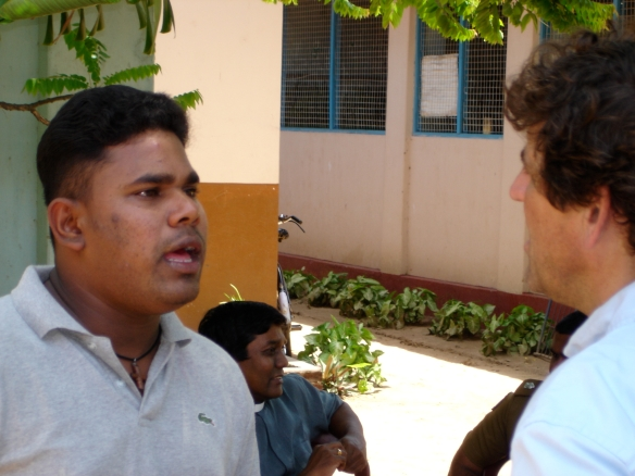Young people working for peace in Sri Lanka
