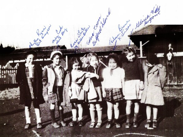 Children at St. Micheal's Residential School, Alert Bay, British Columbia