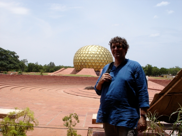 Hans Einar and the Matrimandir
